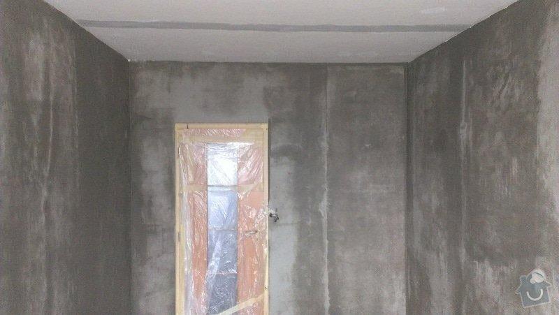 Štukování - 1 pokoj v panelovém domě: IMAG0623