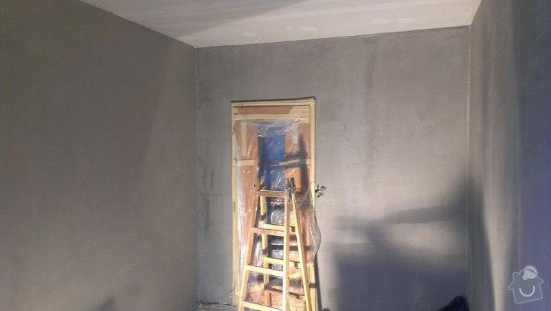 Štukování - 1 pokoj v panelovém domě: IMAG0625