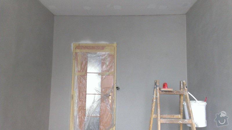 Štukování - 1 pokoj v panelovém domě: IMAG0628