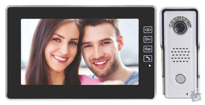 Montáž (a případné dodání) 2ks videotelefonů EMOS H1018 : EMOS_sada_H1018_002