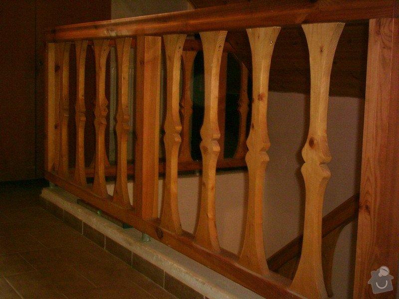 Rekonstrukce schodiště a výroba stylového zábradlí: PHTO0144