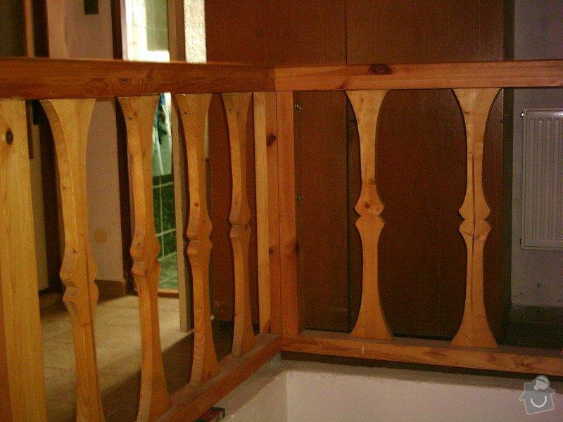 Rekonstrukce schodiště a výroba stylového zábradlí: PHTO0146