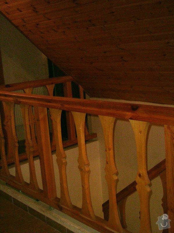 Rekonstrukce schodiště a výroba stylového zábradlí: PHTO0149