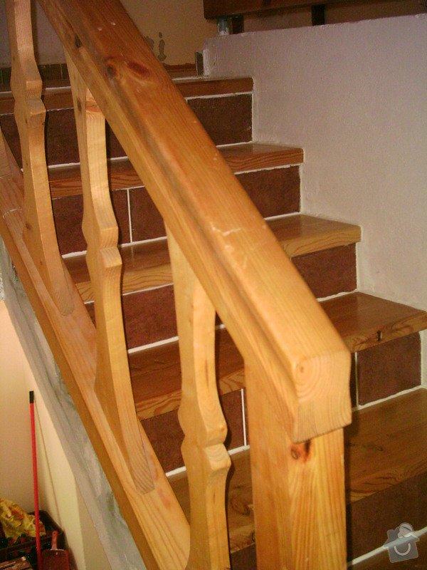 Rekonstrukce schodiště a výroba stylového zábradlí: PHTO0151