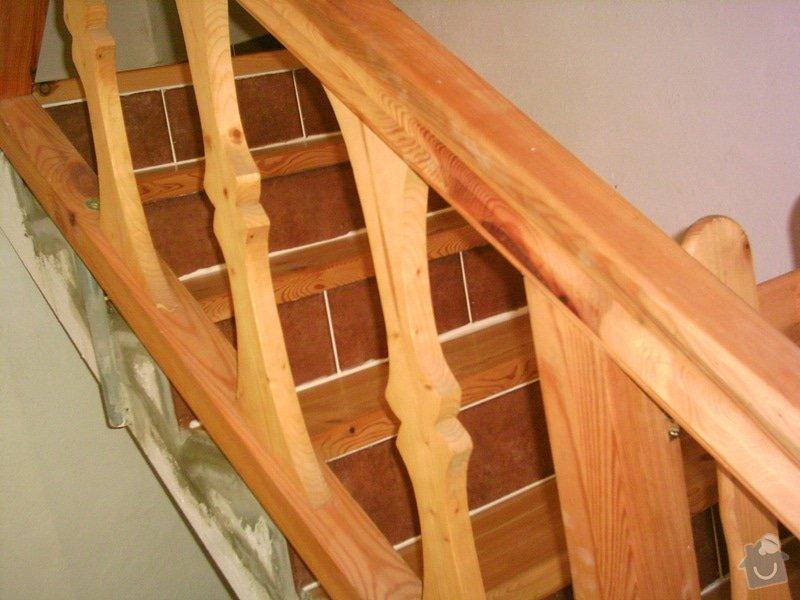 Rekonstrukce schodiště a výroba stylového zábradlí: PHTO0153
