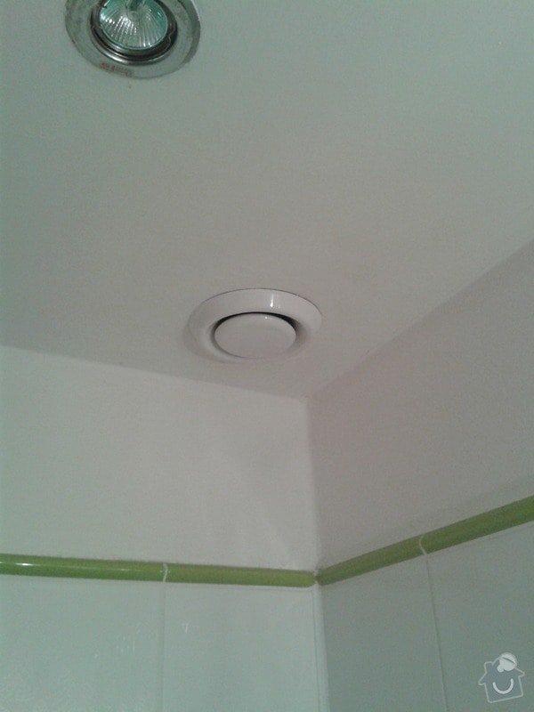 Oprava odsávání WC a koupelny: 20131219_210114