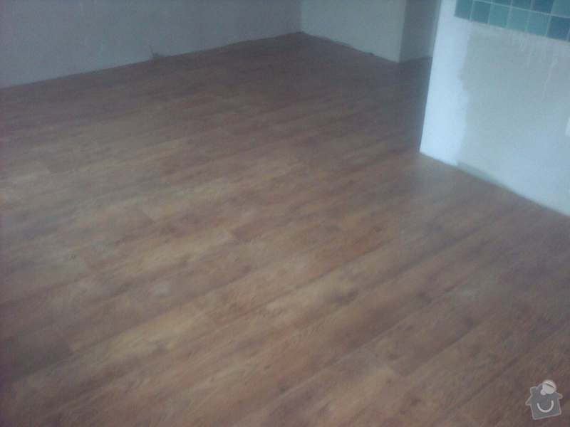 Pokládka plovoucí podlahy 90m2: 12032013948