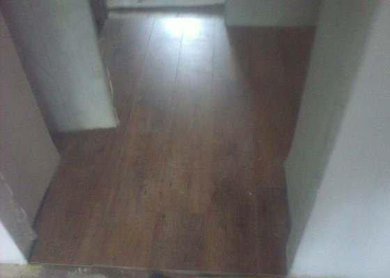Pokládka plovoucí podlahy 90m2