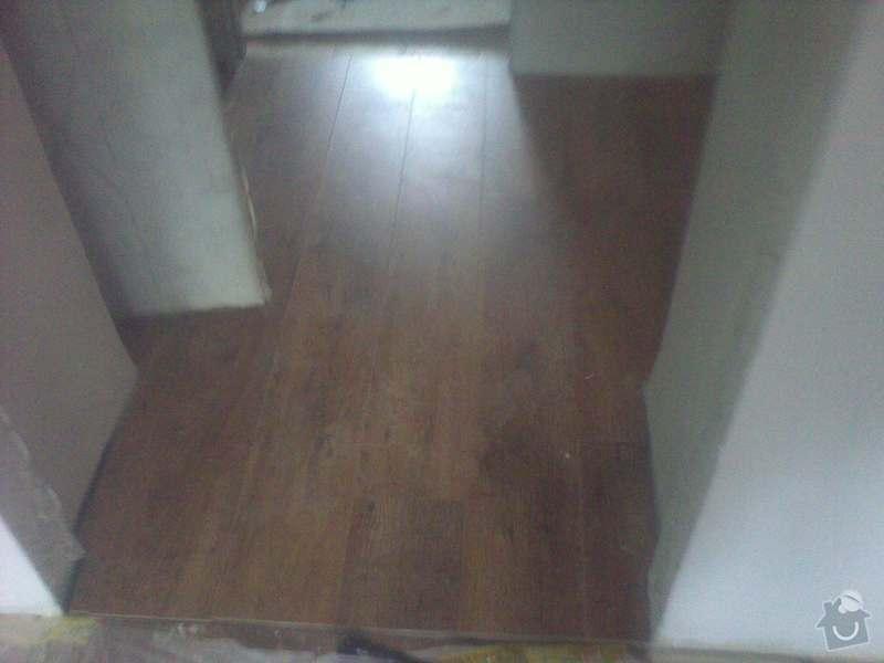Pokládka plovoucí podlahy 90m2: 12032013950