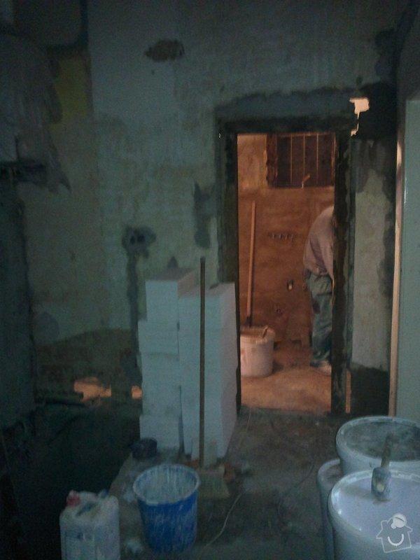 Zednické a obkladačské práce (rekonstrukce bytu, Praha 6): 260920131616