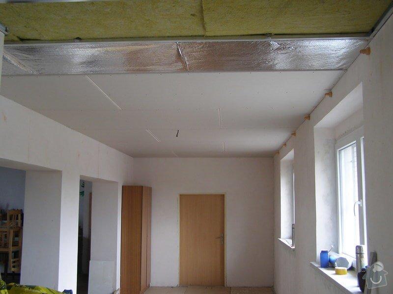 Rekonstrukce kulturního domu - omítání, štukování, stavební a instalatérské práce: P6050132