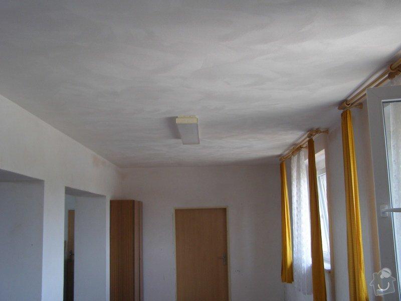 Rekonstrukce kulturního domu - omítání, štukování, stavební a instalatérské práce: P6130166