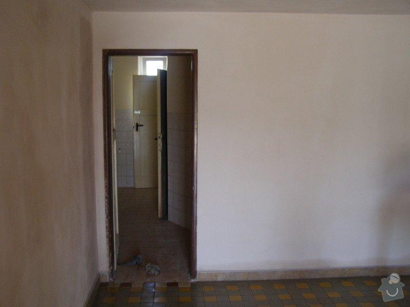 Rekonstrukce kulturního domu - omítání, štukování, stavební a instalatérské práce: P6130172