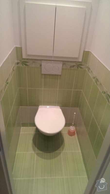 Rekonstrukce koupelny a wc: IMAG1549