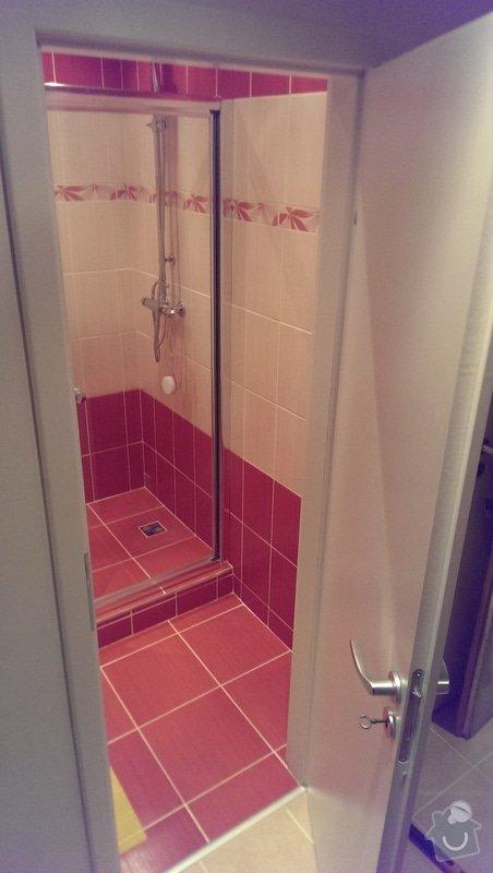 Rekonstrukce koupelny a wc: IMAG1570