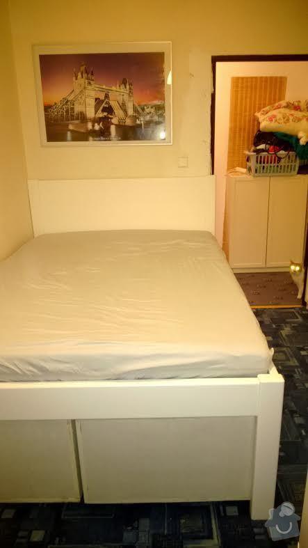 Vyroba vysoke postele 140x200: postel