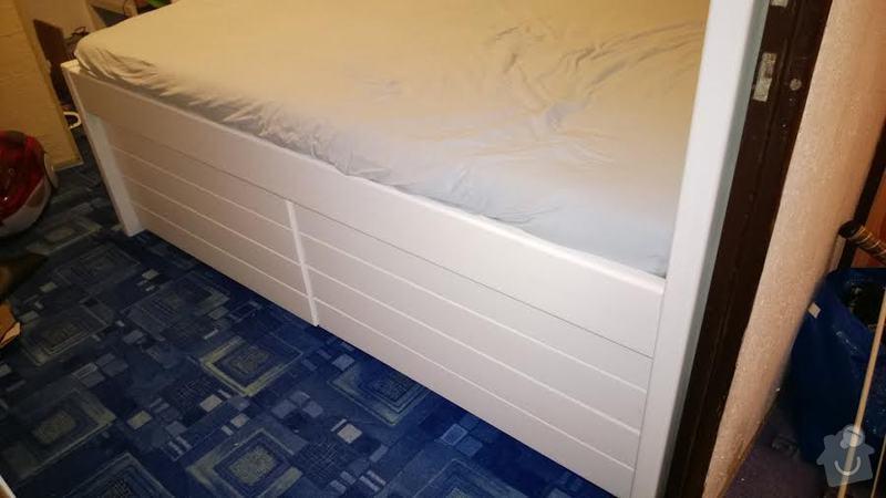 Vyroba vysoke postele 140x200: postel2