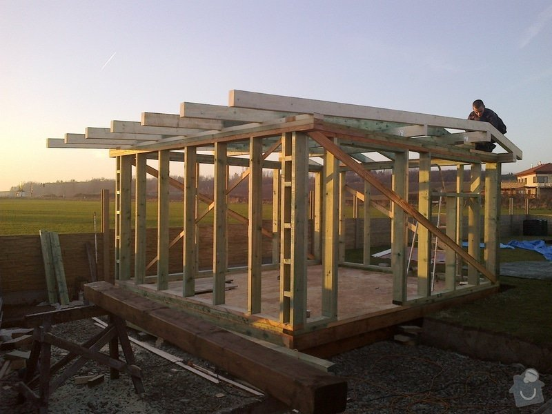 Dreveny zahradni domek 4x6m: 10122013876