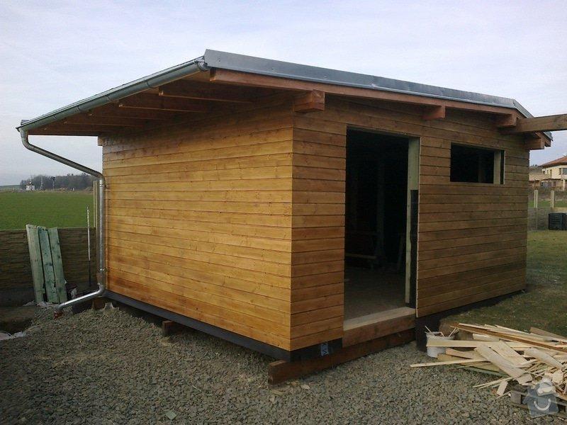 Dreveny zahradni domek 4x6m: 20122013902
