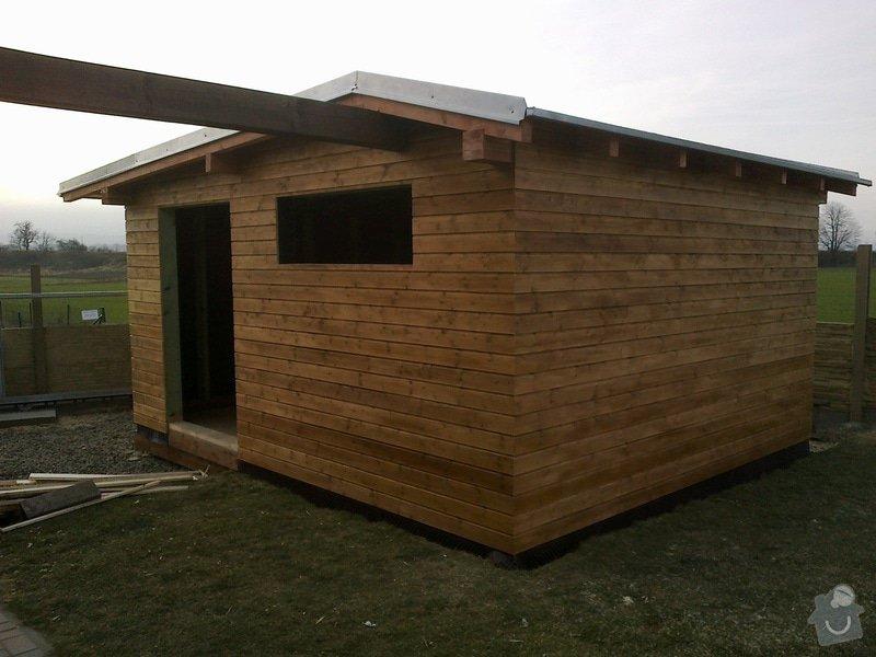 Dreveny zahradni domek 4x6m: 20122013903