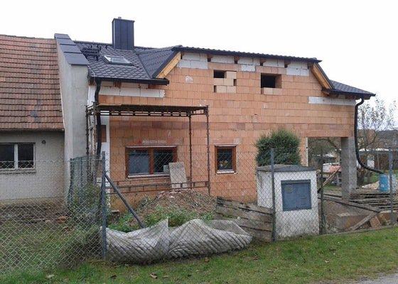 Nová střecha pro rekonstrukci RD