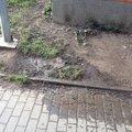 Havarijni oprava odpadniho potrubi v pruchodu bytoveho domu v img 2689