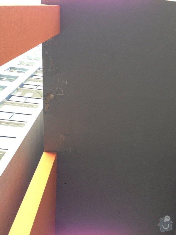Havarijní oprava odpadního potrubí v průchodu bytového domu ve výšce 12 m.: IMG_2690