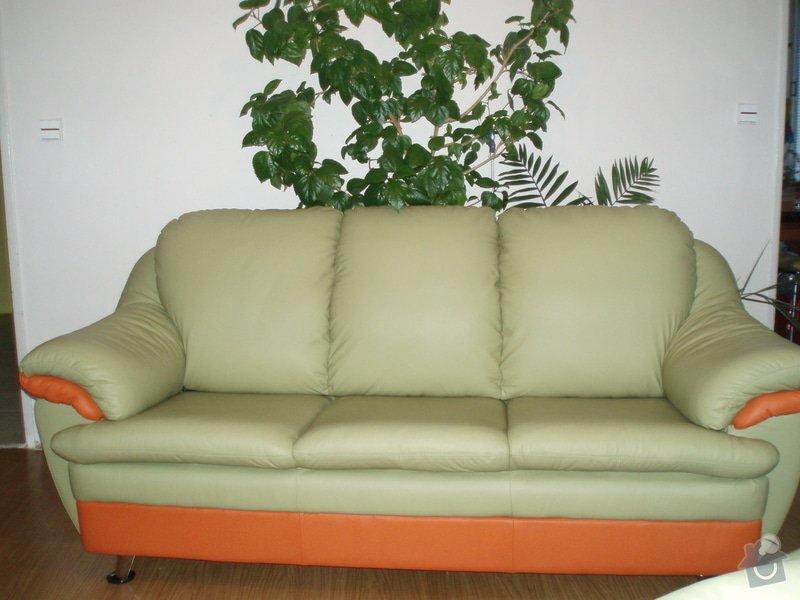 Přečalounění sedaček: sedacka2