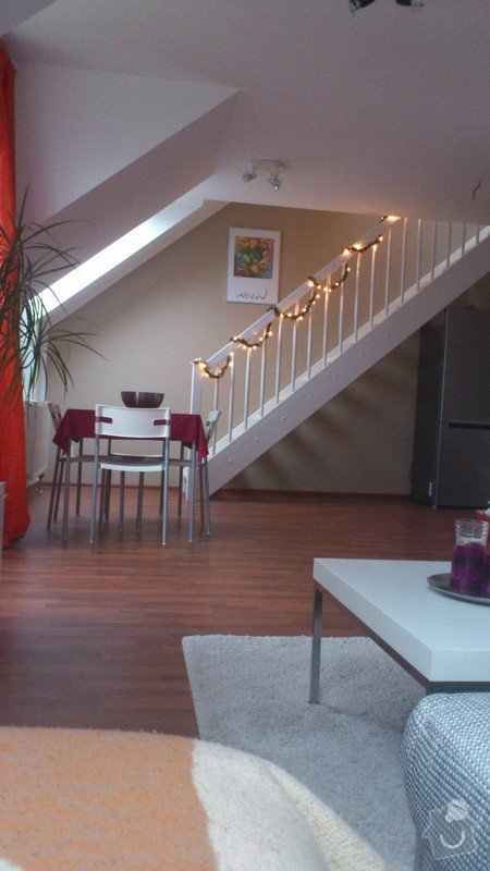 Zbourani příčky mezi kuchyní a obývákem +  el. zástuvky, která je ve zdi.: DSC_0739