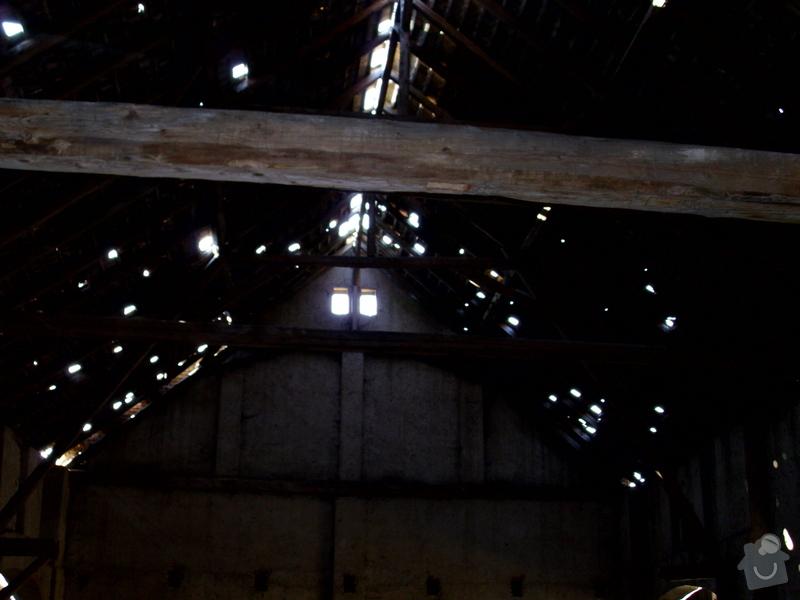 Oprava krovu na stodole: Neumerice_-_stodola_4