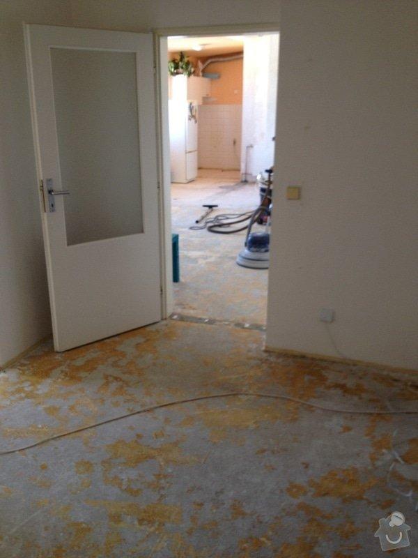 Srovnání podlahy nivelační stěrkou: IMG_1200