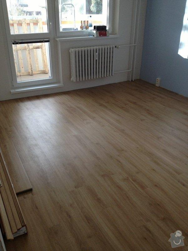 Samonivelační stěrka, pokládka vinylové podlahy.: IMG_1117