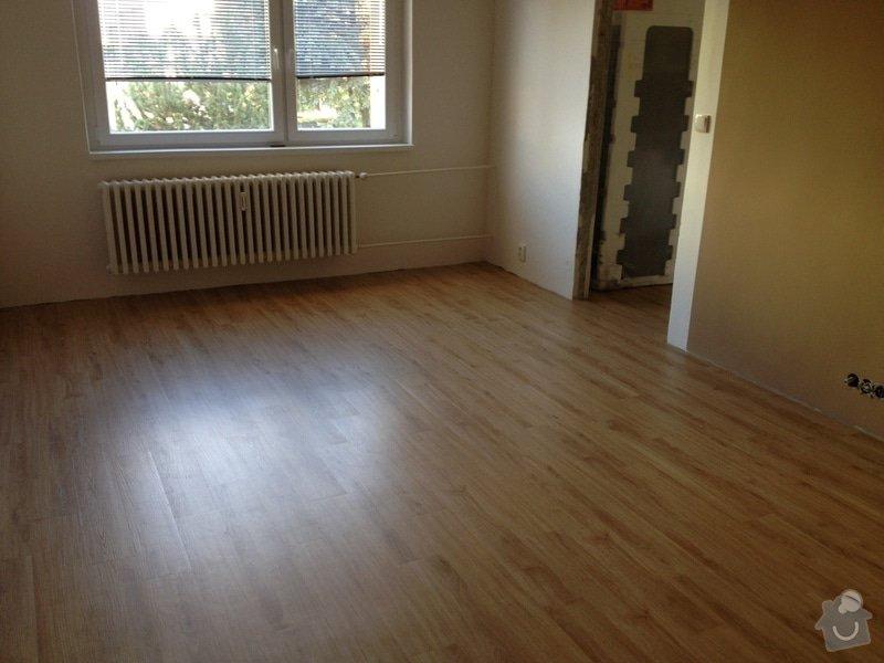 Samonivelační stěrka, pokládka vinylové podlahy.: IMG_1118