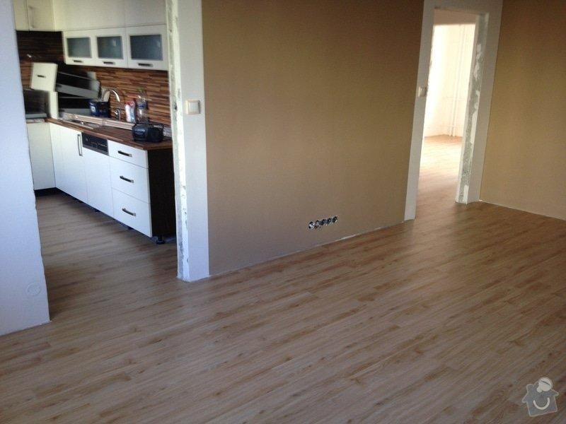 Samonivelační stěrka, pokládka vinylové podlahy.: IMG_1119
