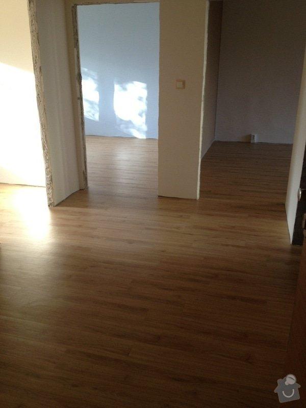Samonivelační stěrka, pokládka vinylové podlahy.: IMG_1121