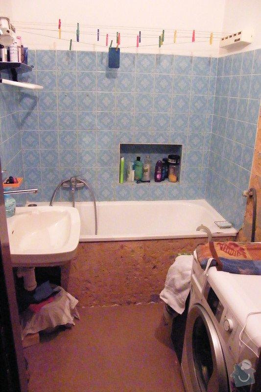 Rekonstrukce koupelny cca 2 x 1,6m: DSCF4646