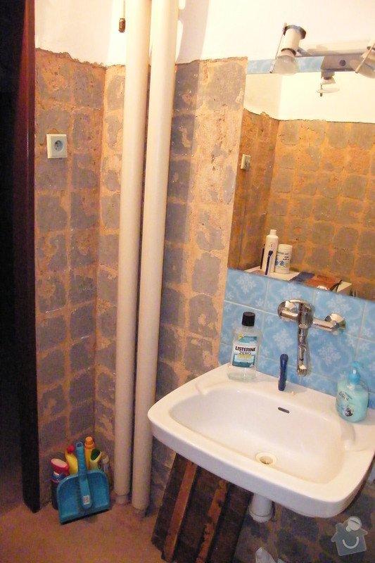 Rekonstrukce koupelny cca 2 x 1,6m: DSCF4647