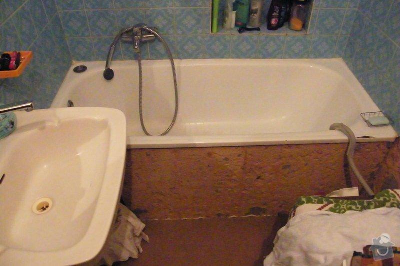 Rekonstrukce koupelny cca 2 x 1,6m: DSCF4649