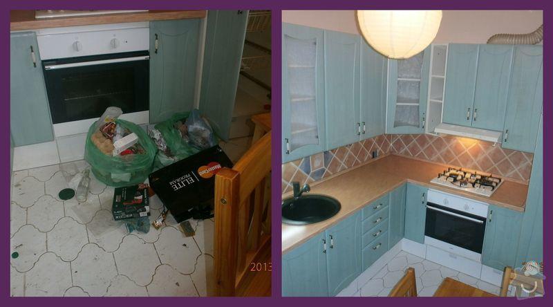 Úklid bytu: Kuchyn