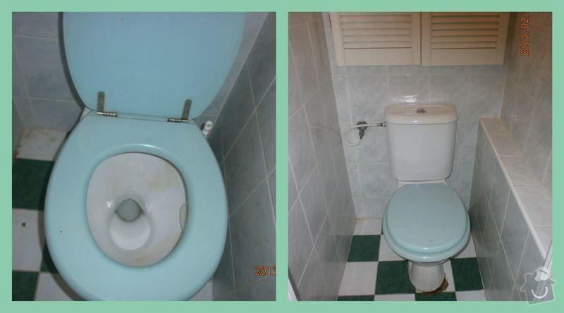 Úklid bytu: WC