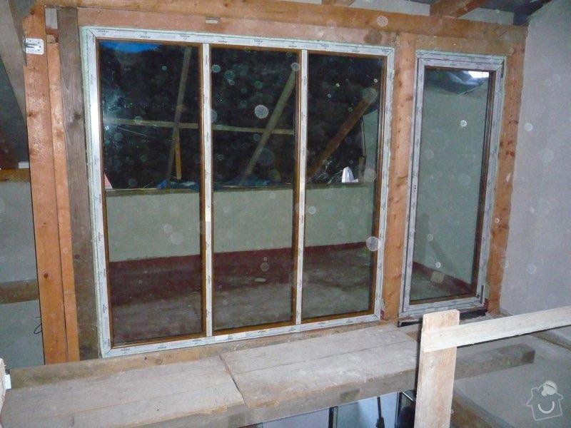 Dodávka a montáž oken pro půdní vestavbu: P1060303