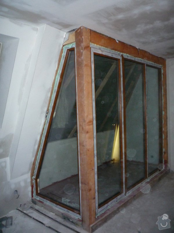 Dodávka a montáž oken pro půdní vestavbu: P1060307