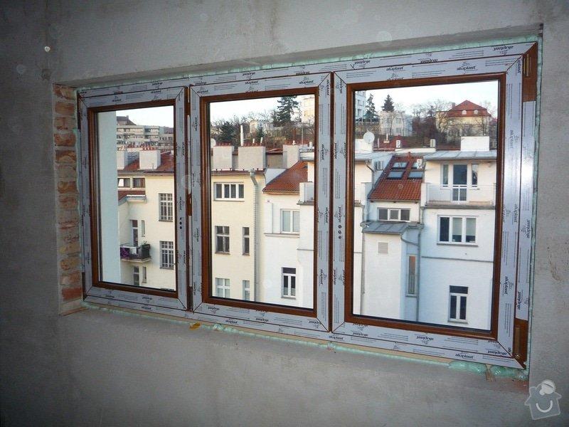 Dodávka a montáž oken pro půdní vestavbu: P1060302