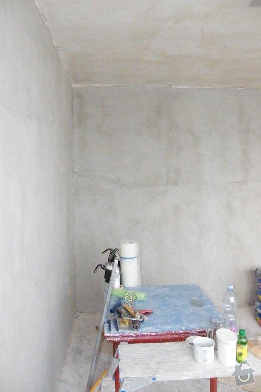 Malířské práce (1 pokoj): DSCF4597