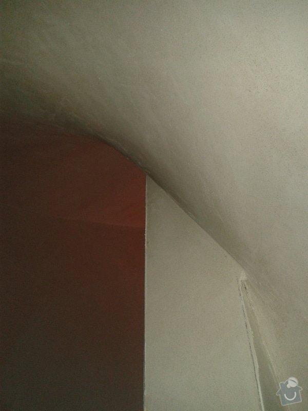 Strojní omítka sádrová hlazená: 20131222_105527
