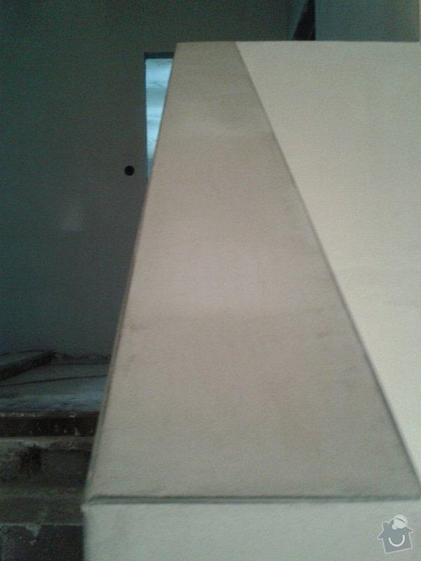 Strojní omítka sádrová hlazená: 20131222_105823