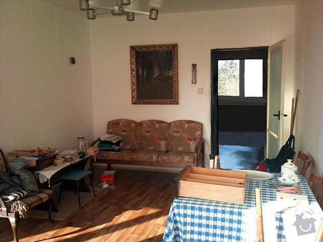 Rekonstrukce bytu - Praha 4: pujmanove_obyvaci_pokoj