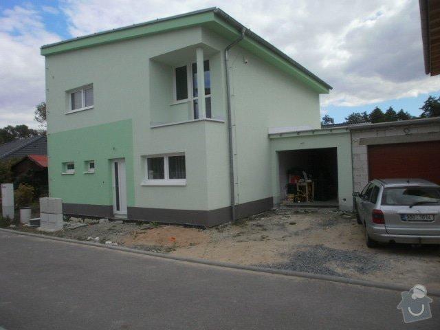 Dokonceni zatepleni, fasadni omitka.: PA021525