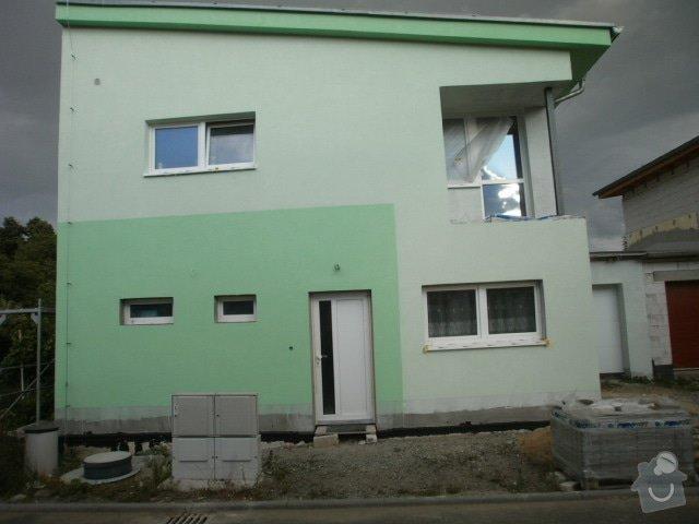 Dokonceni zatepleni, fasadni omitka.: P7121166