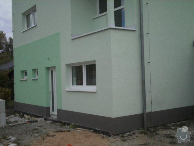Dokonceni zatepleni, fasadni omitka.: PA021523